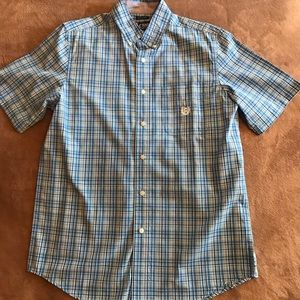 CHAPS S/L BUTTON FRONT SHIRT